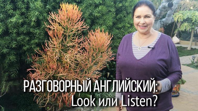 """Разговорный английский Как сказать по-английски """"Послушай!"""""""