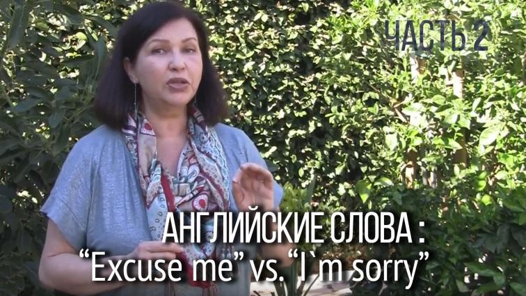 Как извиниться на английском языке.
