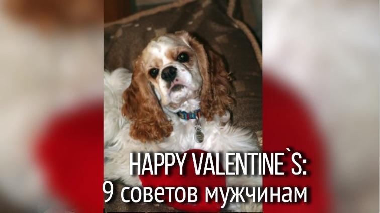 C Днем св. Валентина! Поздравление на английском