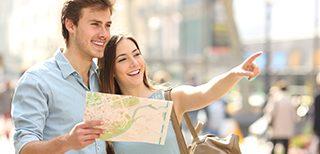 Английский для путешествий: 6 недель/24 урока. Начальный и продвинутый уровни.